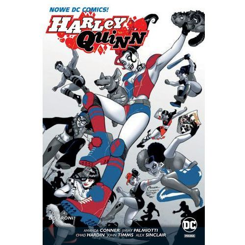 Harley Quinn Tom 4 Do broni, Egmont