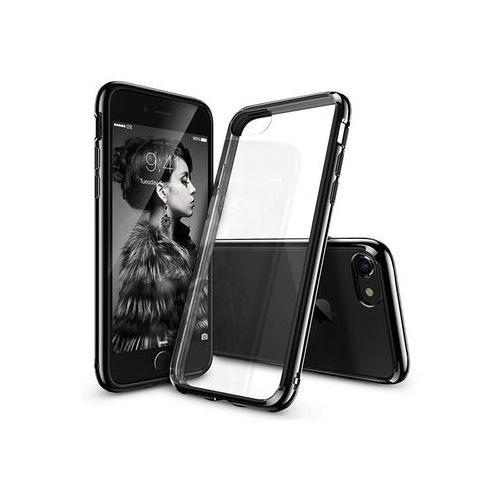 Apple iPhone 8 - etui na telefon Ringke Fusion - czarny, ETAP609RGFUBLK000