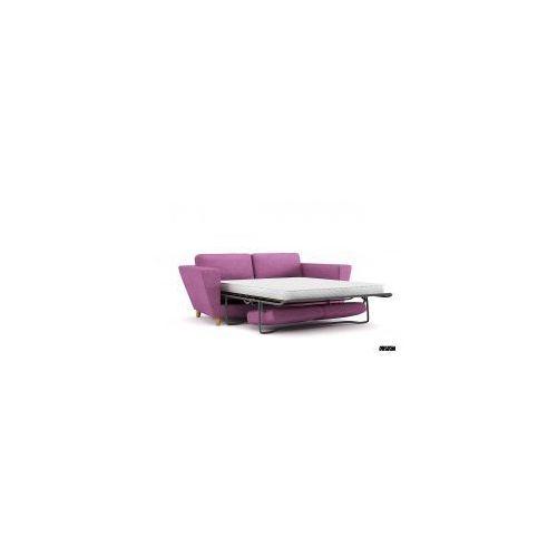 Makstudio Sofa rozkładana atla 183cm fioletowa j. (5902385723657)