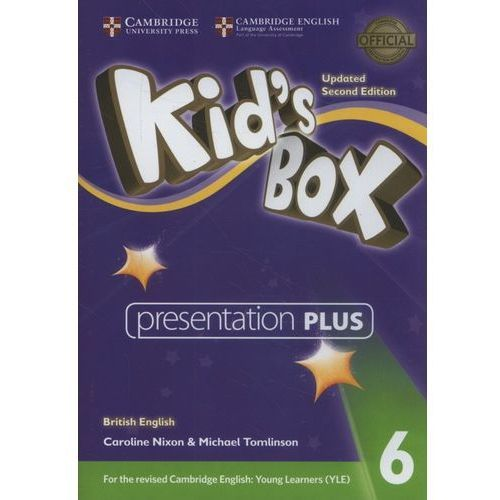 Cambridge university press Kid's box level 6 presentation plus dvd-rom british english (płyta dvd) (9781316628058)