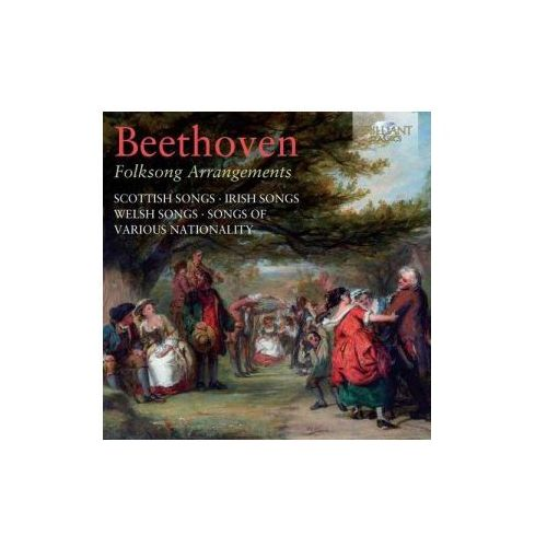 Brilliant classics Beethoven - beethoven: folk song arrangements