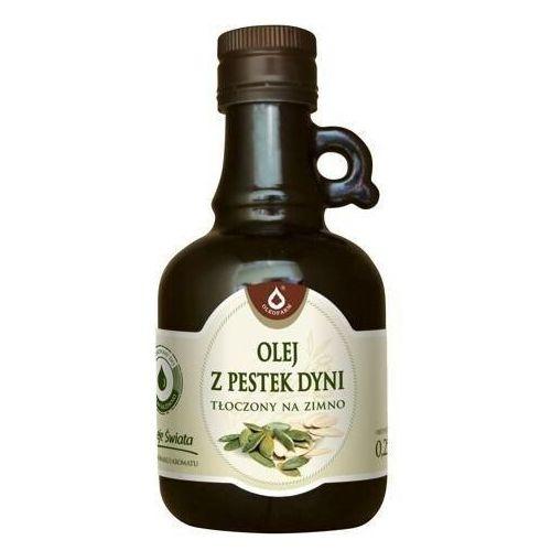 Olej z pestek dyni tłoczony na zimno 250ml