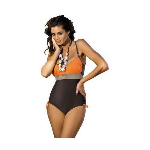 Kostium kąpielowy Marko Whitney Sepia-Papaya-Fango M-253 Brązowo-pomarańczowy (203) (5901425339490)