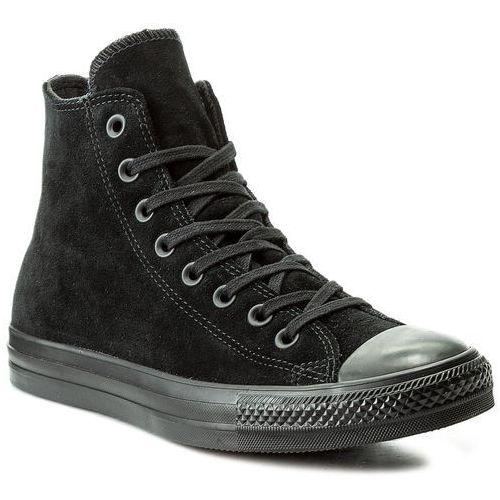 Trampki CONVERSE - Ctas Hi 157520C Black/Black/Black, kolor czarny