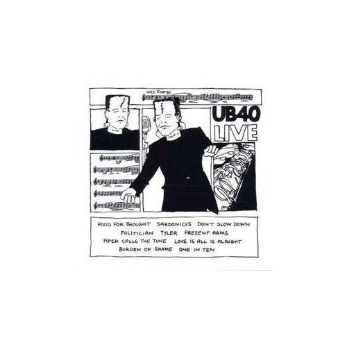 UB40 LIVE - UB40 (Płyta CD) (0077778638926)