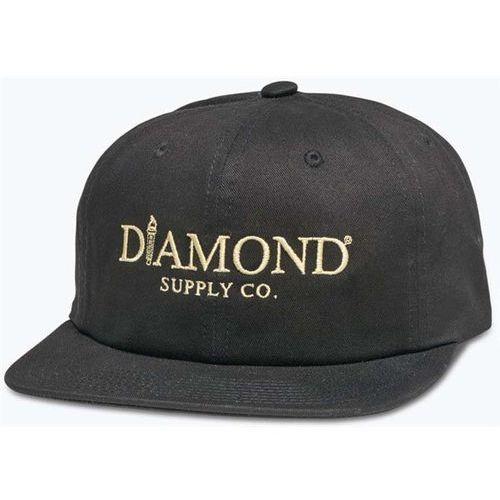 czapka z daszkiem DIAMOND - Mayfair Unconstructed Sb H17 Black (BLK) rozmiar: OS, kolor czarny