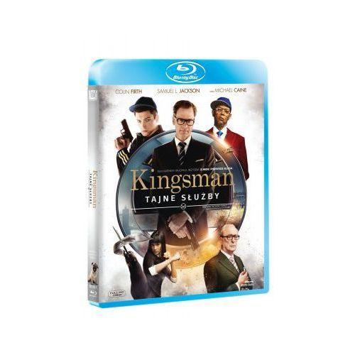 Kingsman. Tajne służby (Blu-Ray) - Vaughn Matthew DARMOWA DOSTAWA KIOSK RUCHU