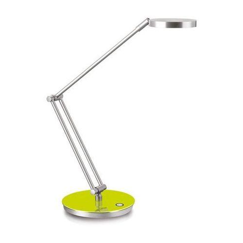 Lampka na biurko CEP CLED-400, 7,5W, ze ściemniaczem, srebrno-zielona - sprawdź w Mercateo Polska