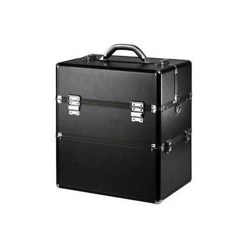 Kuferek kosmetyczny XXL - czarny matowy – Neonail (5903274009906)