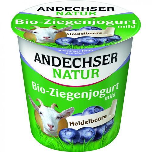 Jogurt kozi jagodowy 3,5% BIO 125 g Andechser Natur