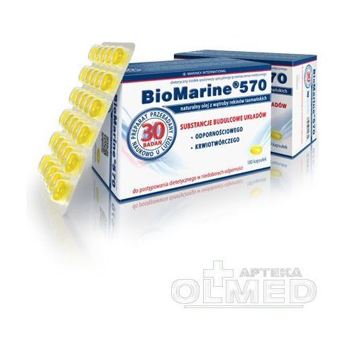 BIOMARINE 570 - 180 kapsułek z kategorii pozostałe zdrowie