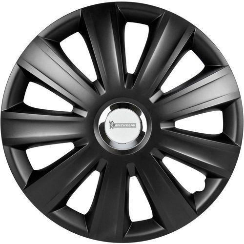 Kołpaki  92011, R16, 4 szt., Czarny (matowy), Michelin
