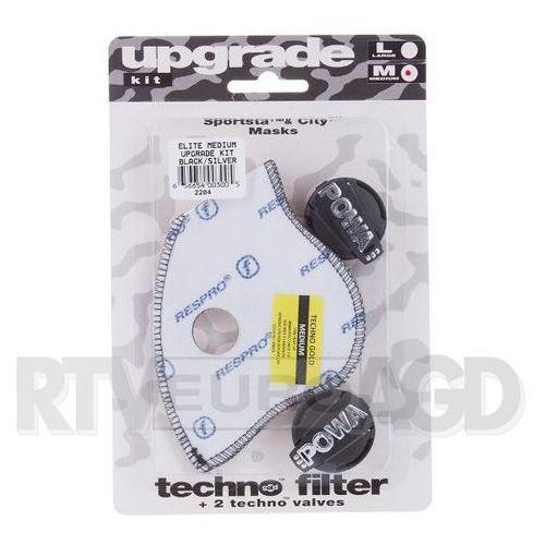 Respro Upgrade Kit Powa Elite rozmiar M (czarno-srebrny), RUK05 BK/S#M