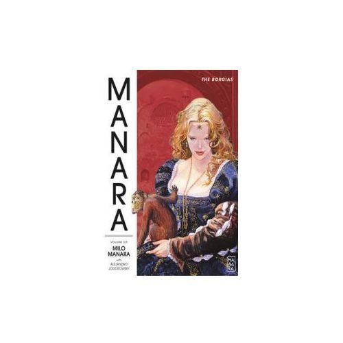 Manara Library Volume 6, Manara, Milo