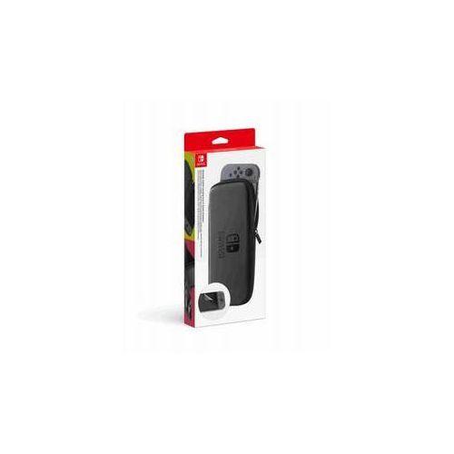 Etui / pokrowiec switch carrying case & screen protector (nsp130) czarne marki Nintendo