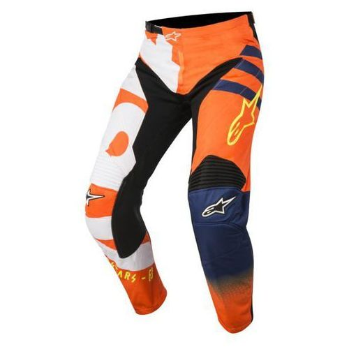 SPODNIE ALPINESTARS YOUTH RACER BRAAP S8Y OR/BL/WH