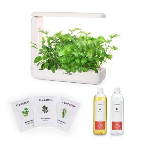 growit cuisine zestaw startowy i 10 roślin oświetlenie led 25 w nasiona roślin azjatyckich pożywka płynna marki Klarstein