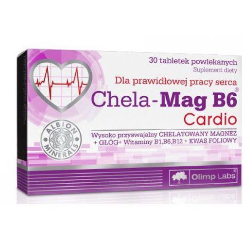 Olimp chela-mag b6 cardio x 30 tabl powlekanych (5901330034947)