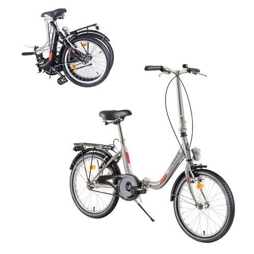 "Dhs Składany rower folder 2092 20"" - model 2019, czarny (8596084088598)"
