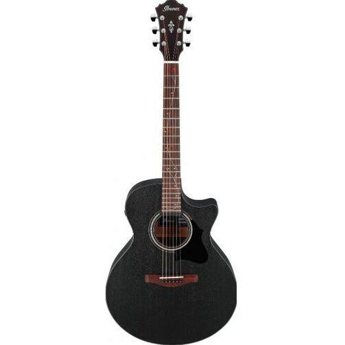 Ibanez ae295-wk wheathered black e-gitara akustyczna 6-strunowa