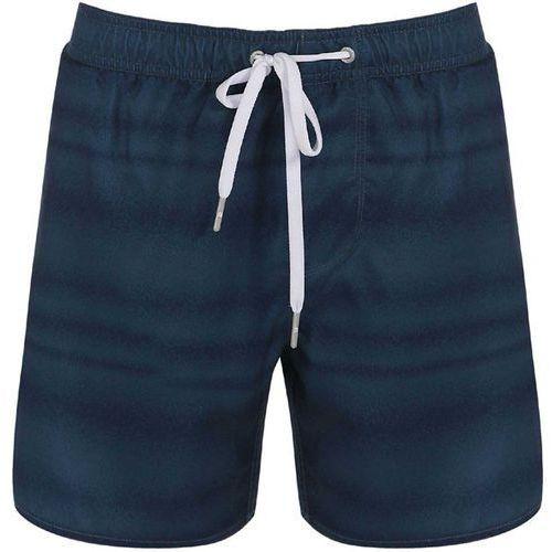strój kąpielowy BENCH - Waveman B Navy Blue (NY008) rozmiar: M, kolor niebieski