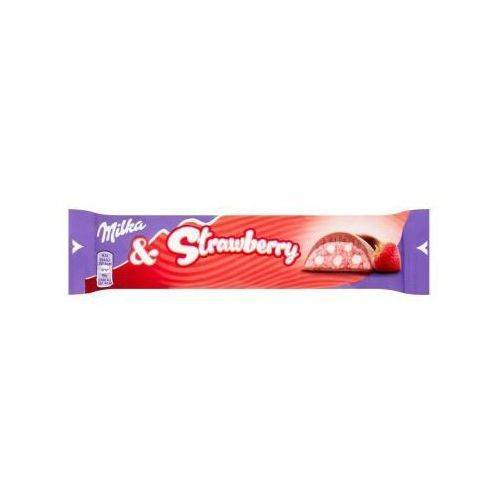 Czekolada Milka Strawberry 36,5 g (7622210741677)