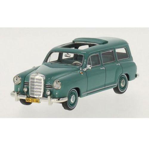 Premium x Mercedes-benz pontoon (w120) binz station wagon 1954 (light green) (5902002966955)