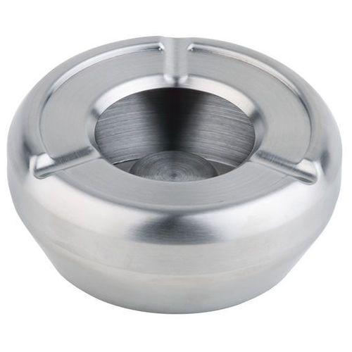 Popielniczka ze stali nierdzewnej o średnicy 100 mm z osłoną | APS, 00090
