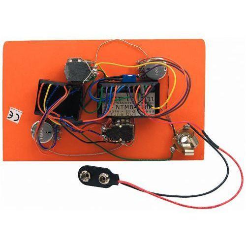 hr-2.5ap/918 - pre-wired active/passive preamp, 3-band eq marki Bartolini