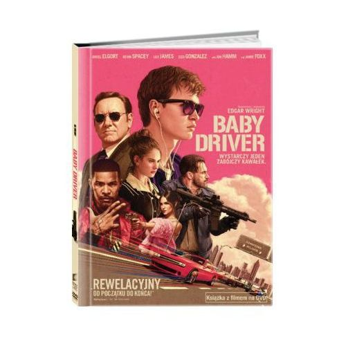 Baby Driver (DVD) + Książka