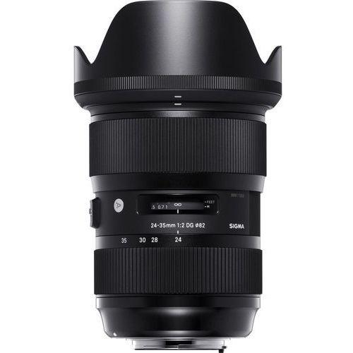 Obiektyw SIGMA A 24-35 F/2.0 DG HSM (Canon) (0085126588540)