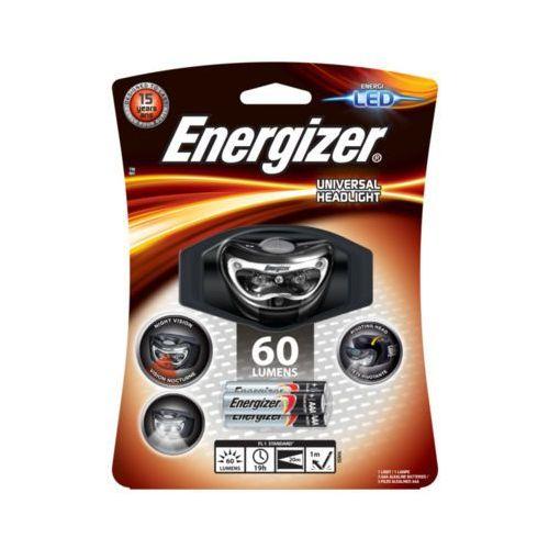 60 lumens universal headlight latarka czołowa + 3aaa marki Energizer