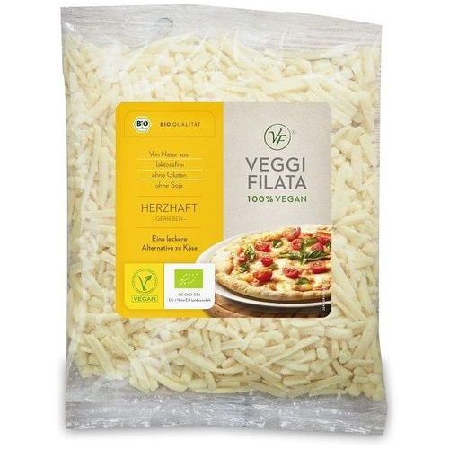 Veggie filata dystrybutor: bio planet s.a., wilkowa wieś 7, 05-084 les Produkt wegański a la ser tarty (6mm) bio 200 g - veggie filata (4260007663257)