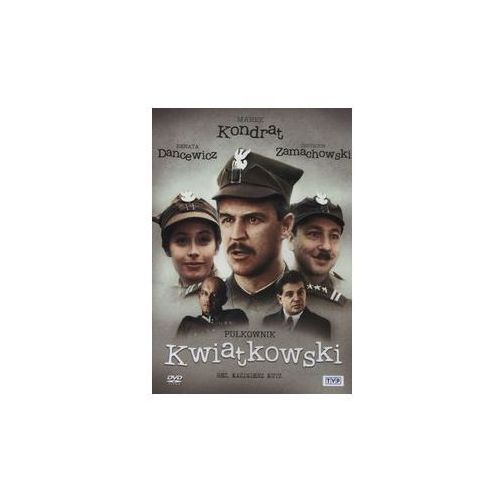 PUŁKOWNIK KWIATKOWSKI DVD. Darmowy odbiór w niemal 100 księgarniach!