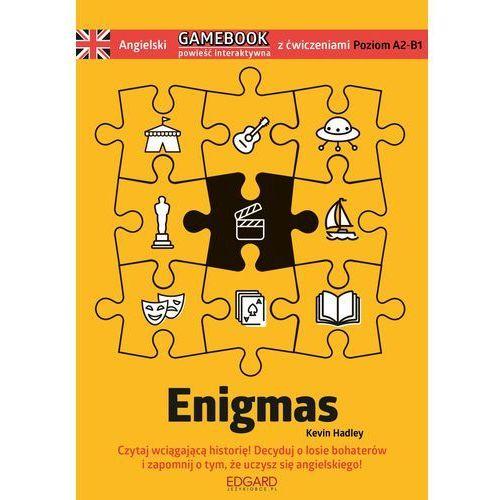 Angielski Gamebook z ćwiczeniami Enigmas, Kevin Hadley