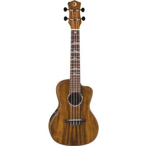high tide concert koa elektryczne ukulele koncertowe marki Luna