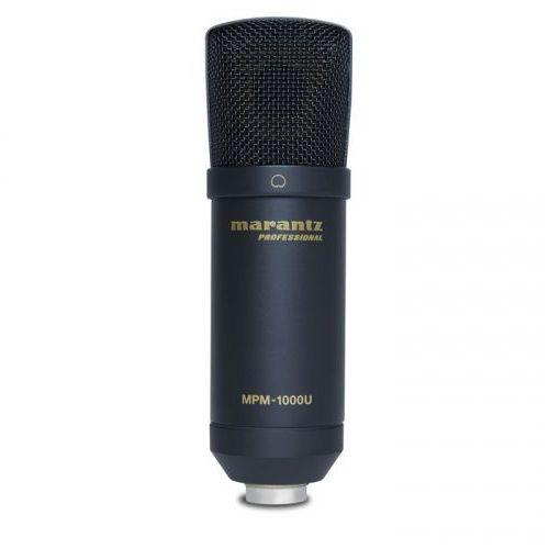 mpm-1000u mikrofon pojemnościowy usb marki Marantz