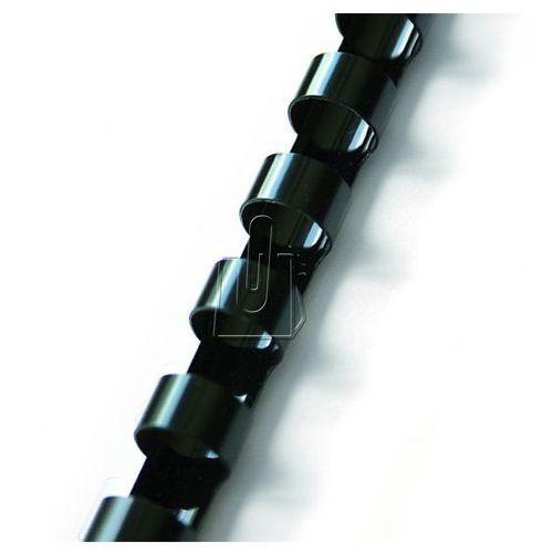 Grzbiety do bindowania 19mm czarne 100 szt.