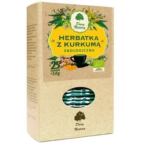 Herbatka z Kurkumą BIO 25x2 g Herbata Dary Natury (5902741002877)