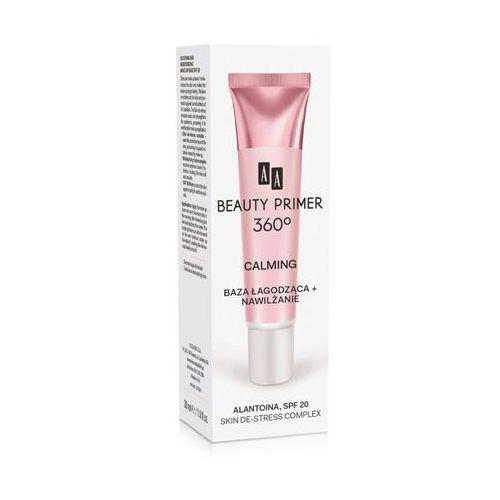 AA Beauty Primer 360 Baza pod makijaż Calming łagodząco-nawilżająca 30ml - Oceanic DARMOWA DOSTAWA KIOSK RUCHU (5900116027616)