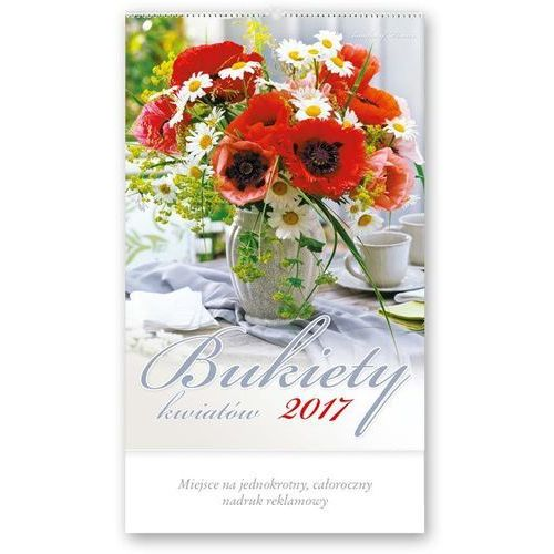 Kalendarz ścienny wieloplanszowy Lucrum Bukiety kwiatów RW-1