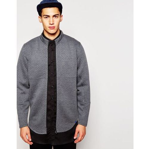 2xH Brothers Quilted Shirt - Grey - sprawdź w ASOS