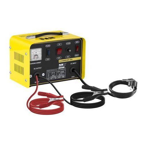 prostownik - 6/12v - 8a - przełącznik napięcia s-charger-10a - 3 lata gwarancji marki Msw