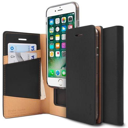 Etui Ringke Signature Skórzane IPhone 7 Black (8809512153134)
