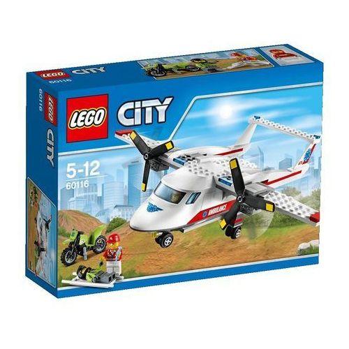 Lego City Samolot ratowniczy (samolot zabawka) od SELKAR