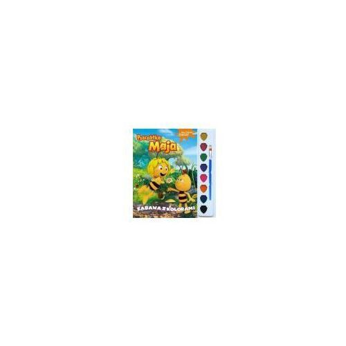Pszczółka Maja. Malowany świat. Zabawa z kolorami Praca zbiorowa (9788379947485)