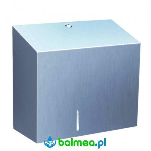 Pojemnik na papier toaletowy MERIDA STELLA MAXI - stal polerowana, BSP101