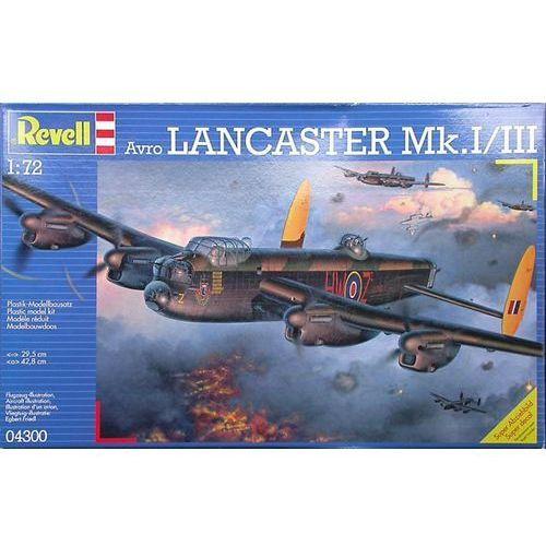 Revell 1:72 avro lancaster (04300) - szybka wysyłka (od 49 zł gratis!) / odbiór: łomianki k. warszawy