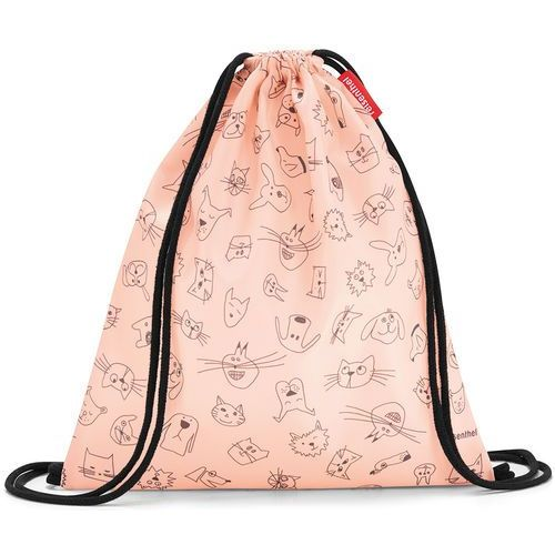 Reisenthel Worek dla dzieci mysac kids cats and dogs rose (ric3064)