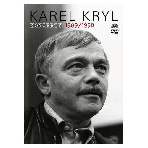 Karel kryl - koncerty 1989/1990 dvd marki Kryl karel
